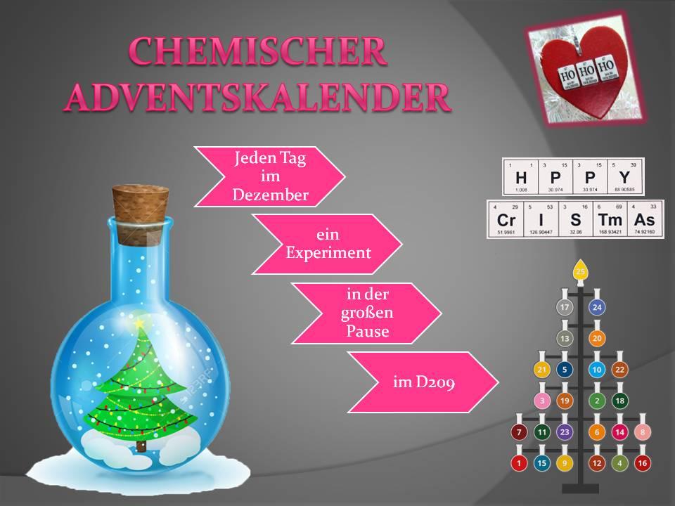Chemie Adventskalender